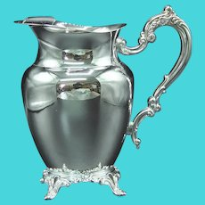 Royal Provincial Silver Plate Water Pitcher by Oneida