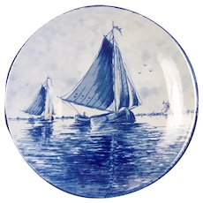 Vintage Delft Wall Plate