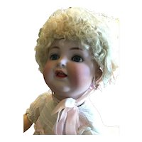 "German Bisque K *R Fully Jointed Toddler, 20""."