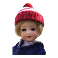 German Bisque Toddler, PM, Mold 914, 10""