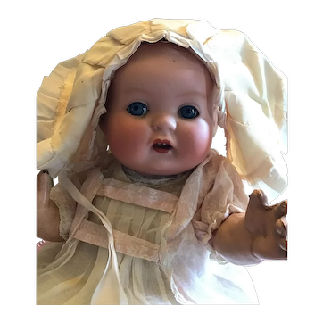 Rare Hertel Schwab Mold number 125, So Called Patsy Baby