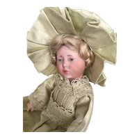 """K*R  German Bisque Character Mold number 101, 8"""", fully jointed"""