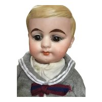 German Bisque, American School Boy, 10""