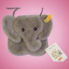 Margarete Steiff Original Elephant purse made in Germany