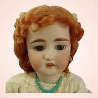 "Antique Simon & Halbig C.M. Bergmann Walterhausen German 29"" Bisque Doll in Antique dress"