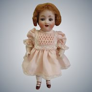 "Rare Antique Mignonette Bisque Kestner model 150 7"" tall doll"