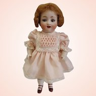 "Rare Antique Mignonette Bisque Kestner model 150 7"" tall doll"