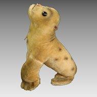"""Adorable 1950's STEIFF """"ROBBY"""" Baby Mohair Seal"""