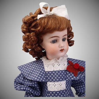 "Stunning Rare Beauty by  Gans and Seyfarth c1900's Germany All Original 23"" Doll"