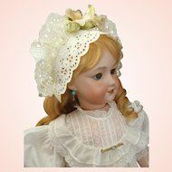 """Remarkable French 26"""" UNIS 301 Bebe Jumeau Doll with working Mama Crier"""