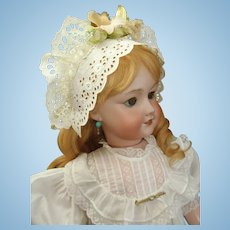 "Remarkable French 26"" UNIS 301 Bebe Jumeau Doll with working Mama Crier"