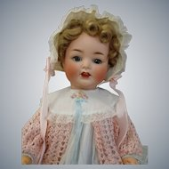 "Live size 25"" Heubach Koppelsdorf Bisque Character Baby Doll"