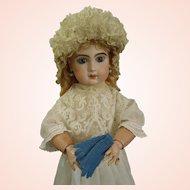 Antique Original Factory Tiny Wool Gloves for Jumeau Bru Steiner Gaultier