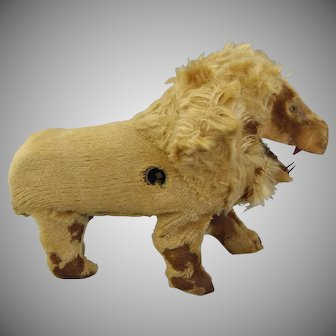 1890's Very rare French Roullet et Decamps Mohair Lion Automaton