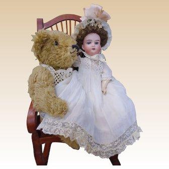 "Adorable Cabinet size 12"" Armand Marseille 390 Antique Bisque Doll"