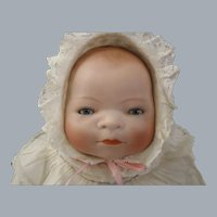 """14""""  Bisque Bye-Lo Baby Doll Grace S. Putnam Germany c.1920's"""