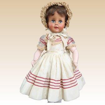 """All original c1950-1953 Madame Alexander 17"""" Madelaine Doll"""