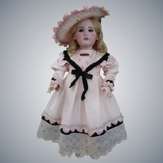 "Beautiful French 23"" ""Bebe VRAI Modele"" SFBJ Doll Circa 1900-1905"