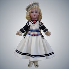 Gorgeous Sailor French Bebe Silk & Cotton Costume & hat