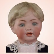 Rare Life size 15 German Bisque Toddler by George Borgfeld