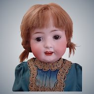 "The Most Sweetest 23"" Heubach Koppelsdorf Turingia Bisque Toddler Doll, Mold 267 in Antique dress"