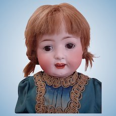"""The Most Sweetest 23"""" Heubach Koppelsdorf Turingia Bisque Toddler Doll, Mold 267 in Antique dress"""