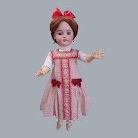 """Most Gorgeous Antique Simon & Halbig 1079 DEP Doll 26"""" tall in antique costume"""