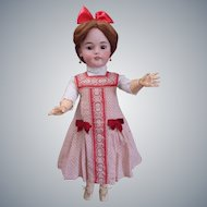 "Most Gorgeous Antique Simon & Halbig 1079 DEP Doll 26"" tall in antique costume"
