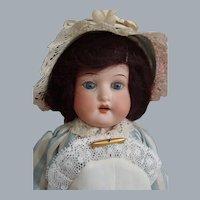 "Adorable small Cabinet size Ernst Heubach Koppelsdorf 275 Bisque head 12"" doll c1890's"