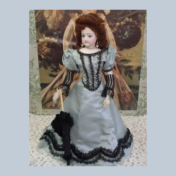 Francois Gaultier FG mark French Fashion doll c1870's