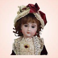 """Gorgeous 21"""" Bebe Jumeau 1907 Size 10 Bebe w/ working voice box Ma-ma"""
