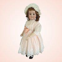 """Sonneberg Cuno & Otto Dressel 1912 Bisque 24"""" Poppy doll"""