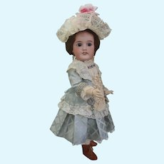 "Delightful French Mon Cheri by Louis Leon Prieur Bisque 22"" Doll"