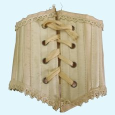 Antique French Poupee Corset