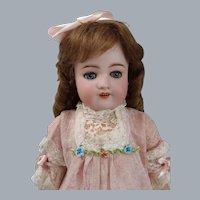 "21"" Very Rare Simon & Halbig 570 Doll in Antique dress"