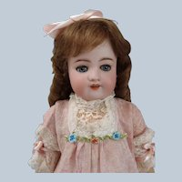 "21"" Very Rare Simon & Halbig 570 Doll in Antique dress"