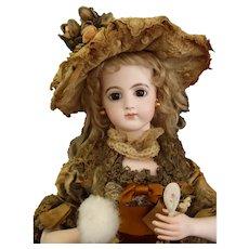 French fashion musical automaton by Gustav Vichy Gaultier fashion Doll