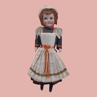 All original 1900's SFBJ Paris Composition Glass Eyes Mignonette Doll