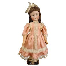 """Huge 32"""" Darling Simon & Halbig 1078 Classic Bisque Antique Child Doll in rare 15 ½ size"""