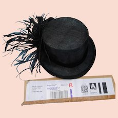 Mini Top Hat Fascinator from London, England