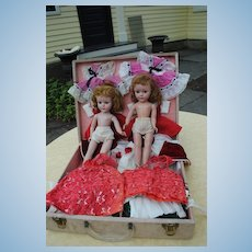 """Twin """"Sweet Sues"""" HP With Extensive Twin Wardrobes! WOW"""