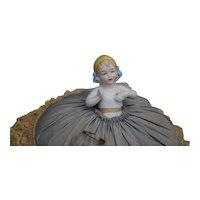 German Pincushion Half Doll
