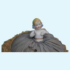 German Pincushion Half Doll