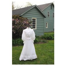 Circa 1900 Victorian Tea or Garden Dress