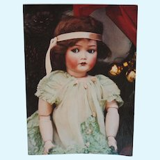 Vintage Postcard with Cuno& Otto Dressel Doll