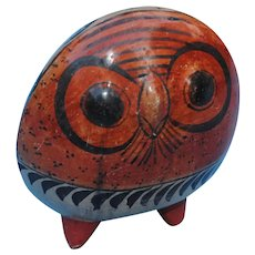 Vintage Tonala Mexican Owl...Great Example