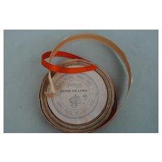 French Silk Satin Ribbon
