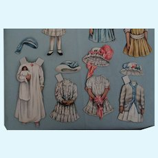 """Paper Doll """"Blanche"""" From the Ladies Home Journal"""
