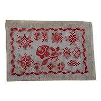 Miniature French Handmade Dollhouse Rug