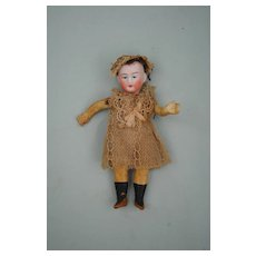All Original Petite Bisque Head Doll